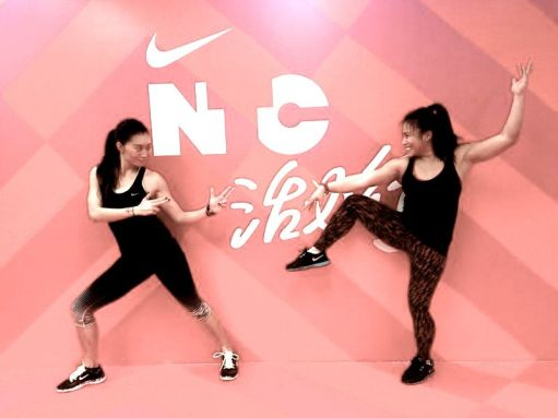 Nike Training Club Workshop in Shanghai with Utah Lee