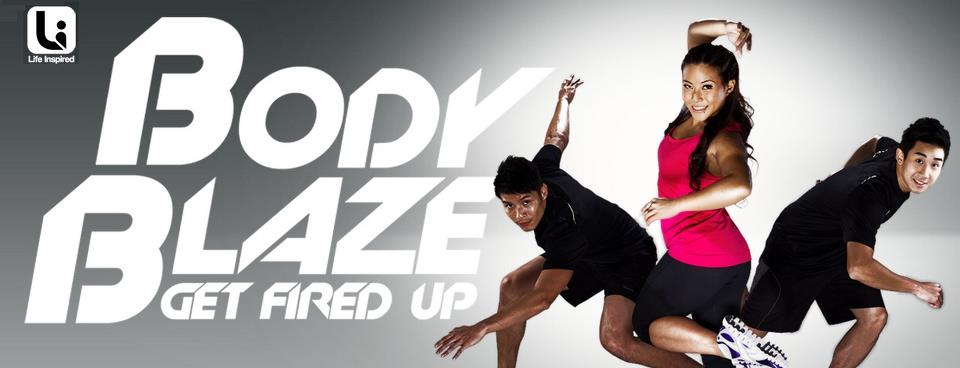 Emily Tan Body Blaze Get Fired Up Poster