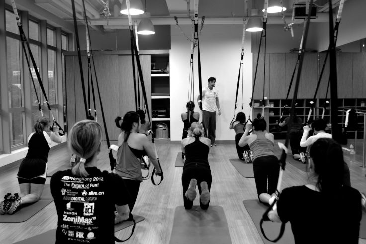 TRX Circuit Class at Flex Studio
