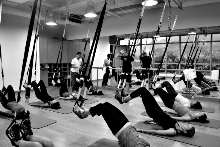 TRX Circuit Group Class at Flex