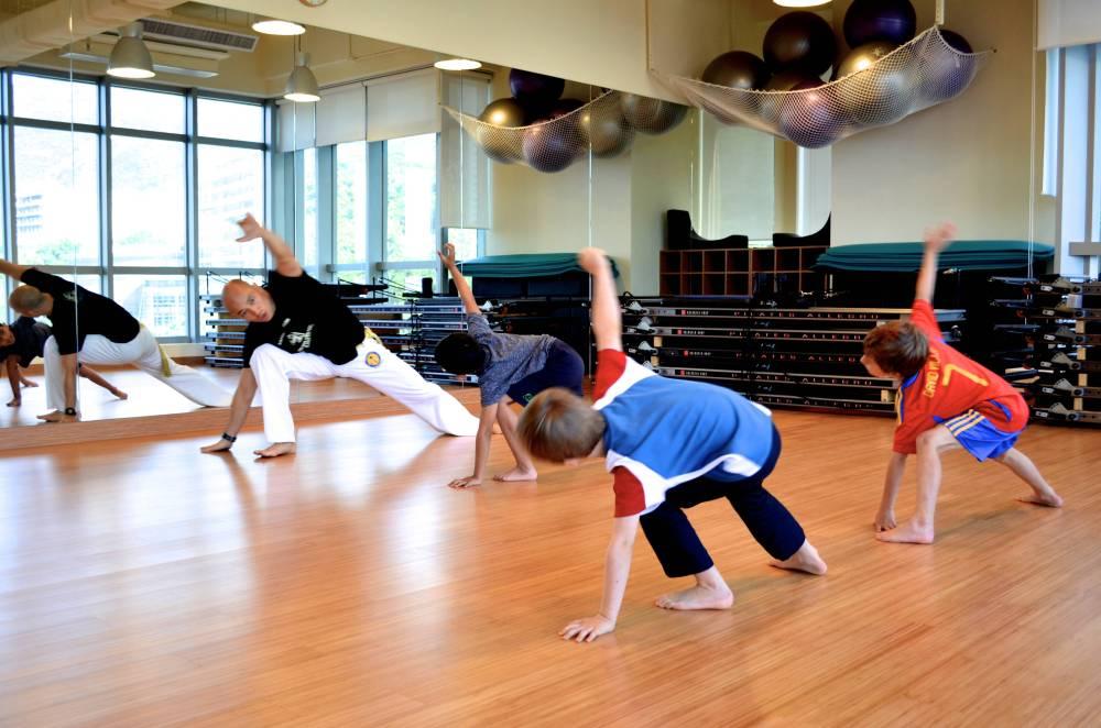 Kids Capoeira with Berimbau
