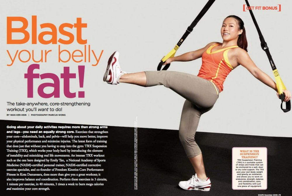 TRX Emily Tan Hong Kong Shape Magazine