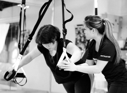 TRX training Emily Tan Hong Kong