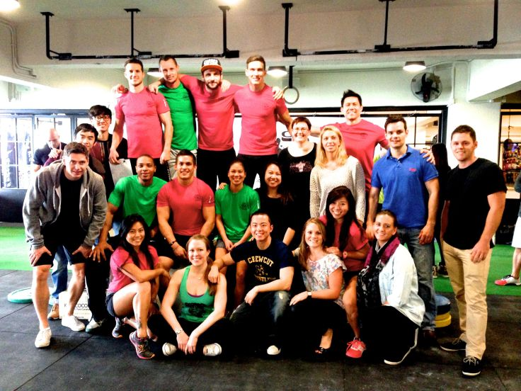 "CrossFit CSTL ""Coastal Fitness Hong Kong"""