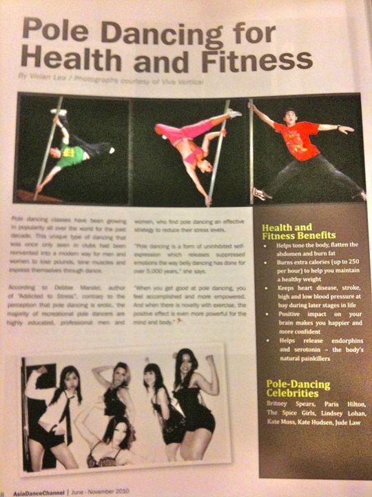 The Three Tans in Dance Magazine Malaysia