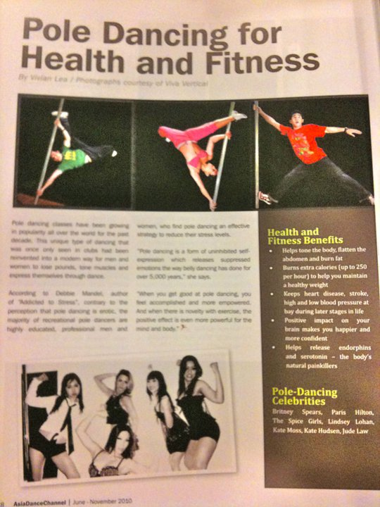 The Three Tans in Dance Magazine Malaysia