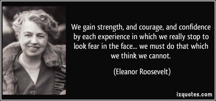 Eleanor Roosevelt Fear